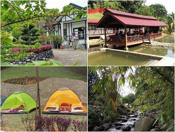 Le' Manah Retreat Kampung Janda Baik Area Image